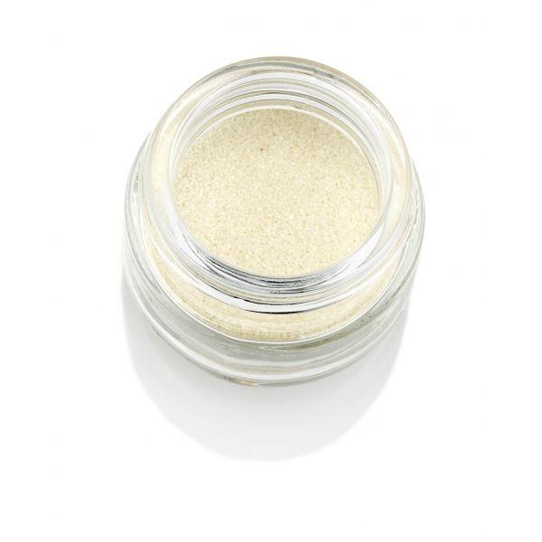 Polvere Glitter bianco fluo