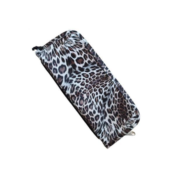 astuccio portapennelli Leopardato