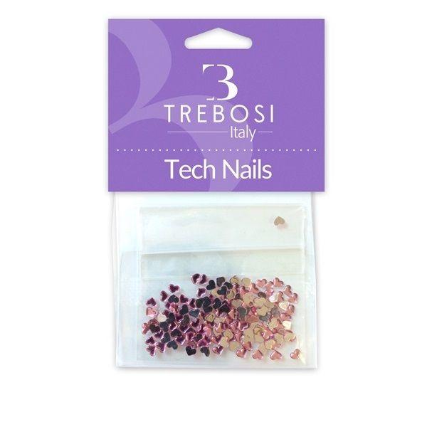 Brillantini per unghie rosa