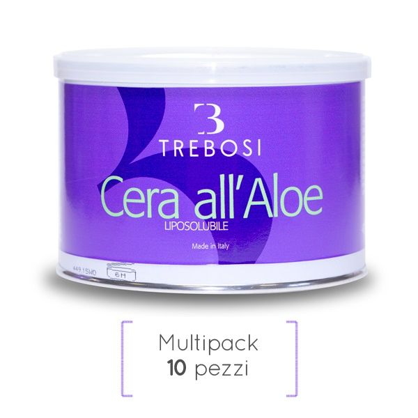 Cera liposolubile aloe in barattolo