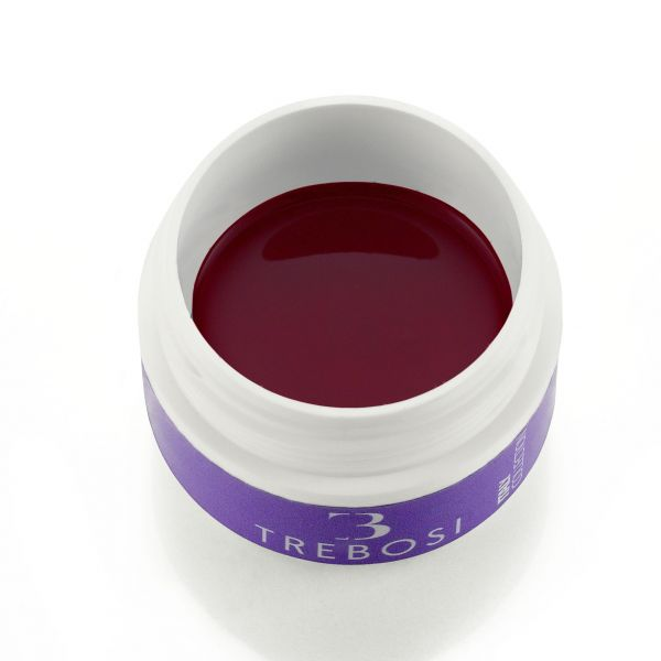 gel color rosso intenso con una punta di bordeax