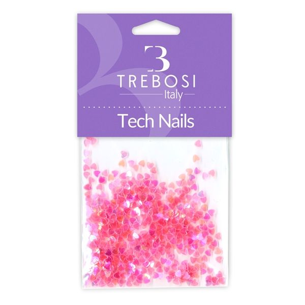 cuori pink per unghie