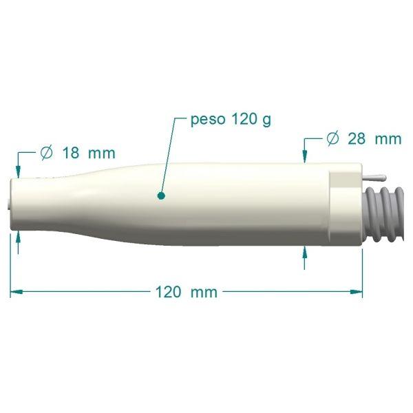 Fresa con aspiratore per podologia