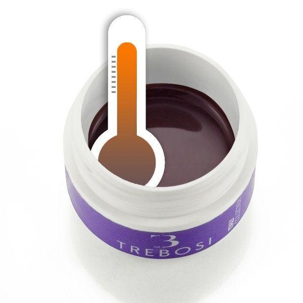 gel color termico marrone