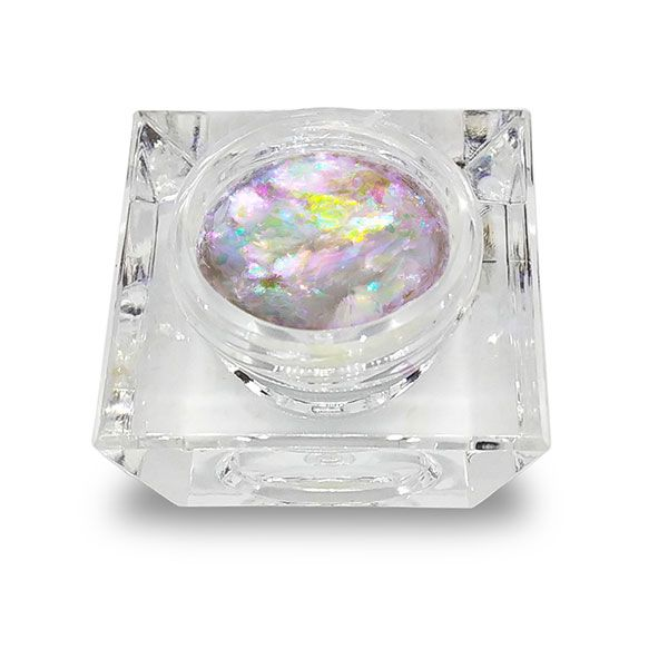 Frammenti olografici lilla giaretta piena