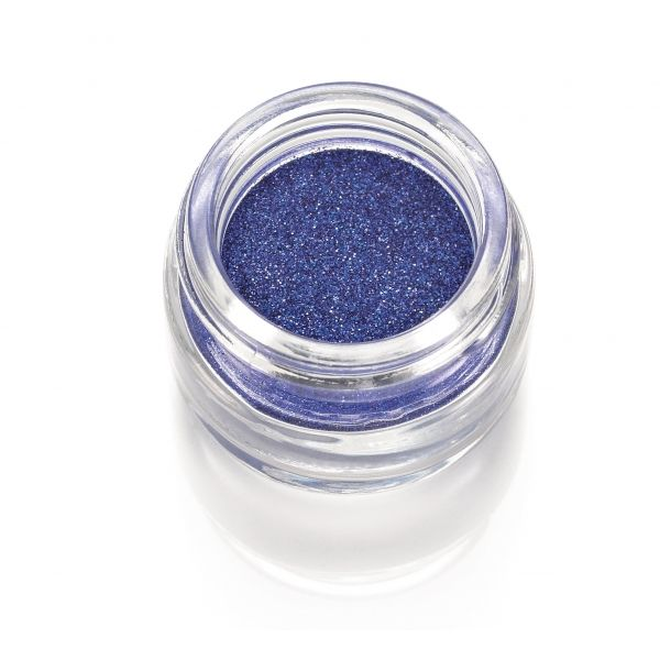 Polvere Glitter blu