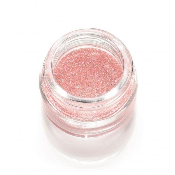 Polvere Glitter Rosa Pesca