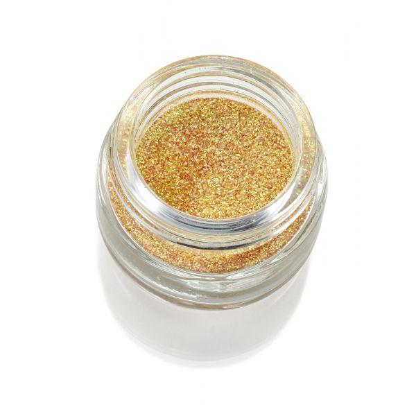 Polvere glitter giallo oro