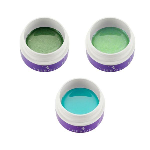 Pack 3 Gel Color - Verde