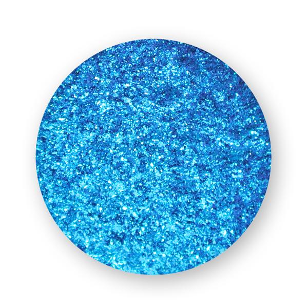 polvere effetto mirror blu