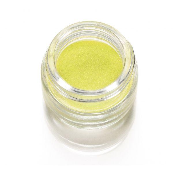 Polvere Glitter Giallo fluo