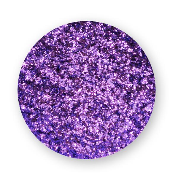 polvere effetto mirror viola