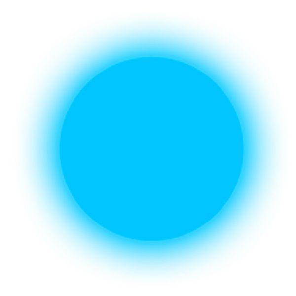 polvere fosforescente blue