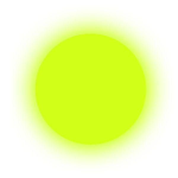 polvere fosforescente yellow