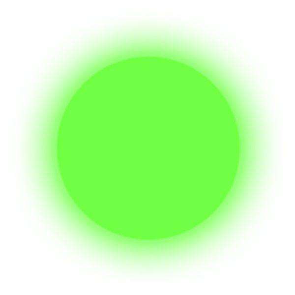 Polvere fosforescente green