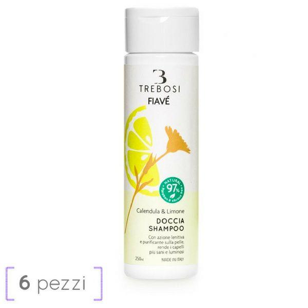 Doccia shampoo calendula e limone 250 ml
