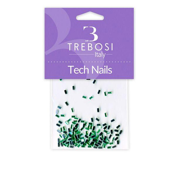 brillantini per unghie verde