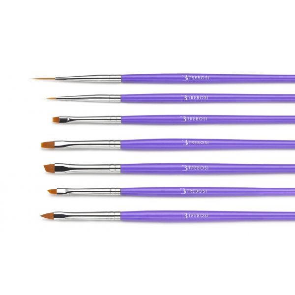 set di pennelli nail art