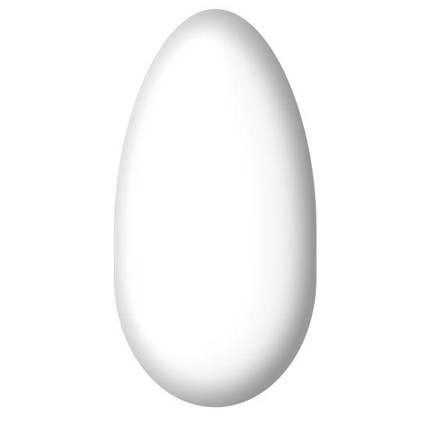 Smalto semipermanente bianco gesso