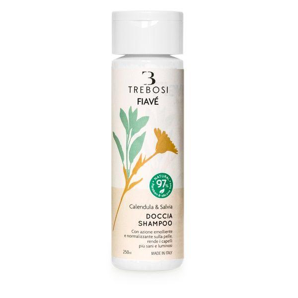 Doccia shampoo calendula e salvia 250 ml