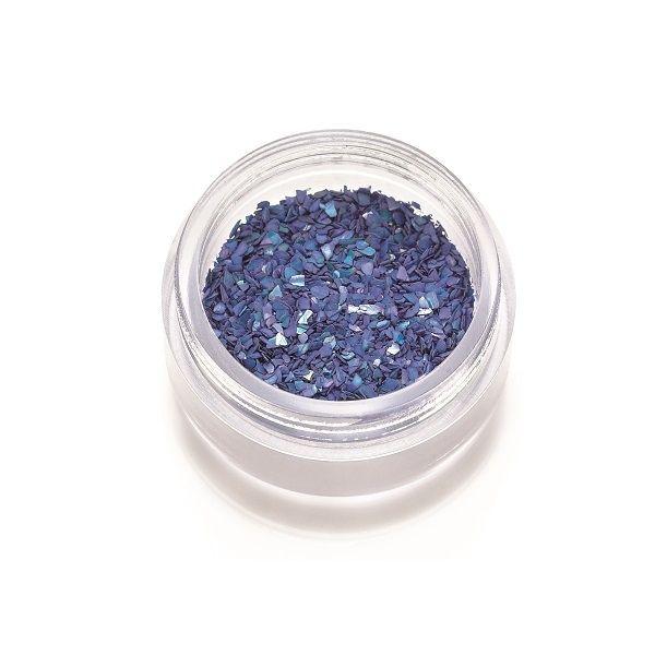 Frammenti di madreperla blu