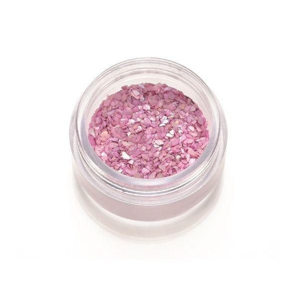 Frammenti di madreperla rosa