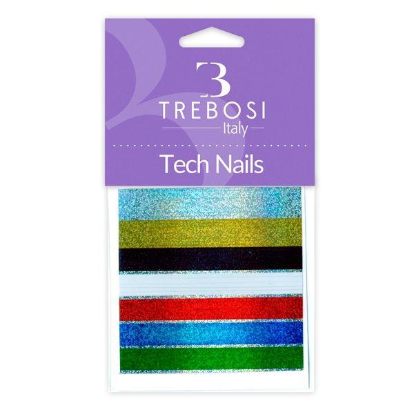 Striping colori assortiti per unghie